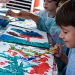 Atividades de Artes Visuais na Escola Tocos I Elvira